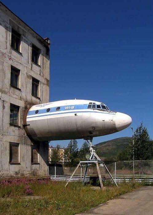 引退した飛行機の再利用11