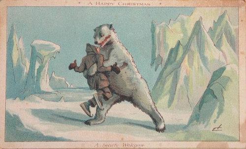 19世紀のクリスマスカード02