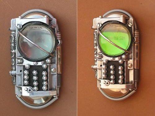 スチームパンクな携帯00