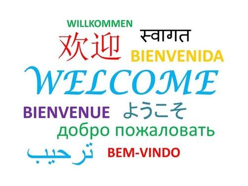 6か国語をあやつり報道をするレポーター