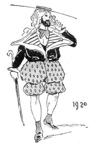 19世紀に想像した20世紀のファッション07