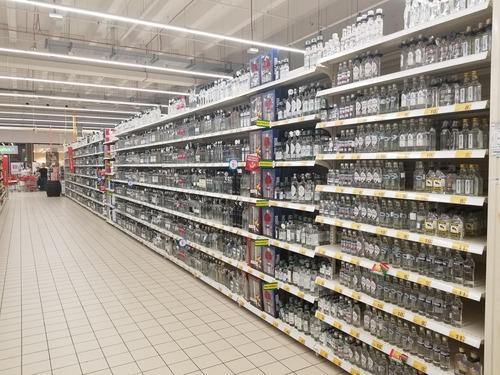 ポーランドのスーパーマーケット01