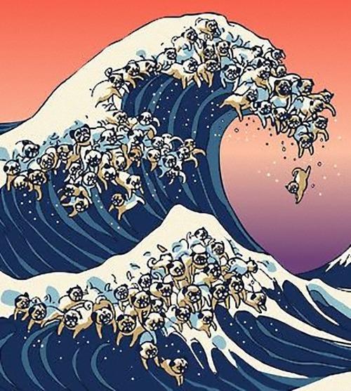大波の浮世絵だと思ったら違った05