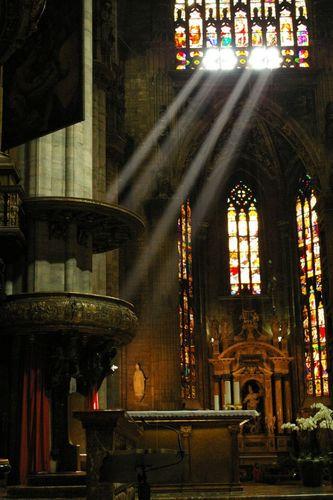 「天使のはしご」薄明光線13