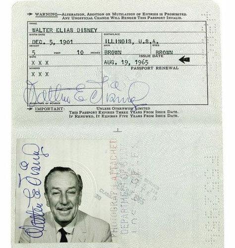 歴史上の有名人のパスポート09