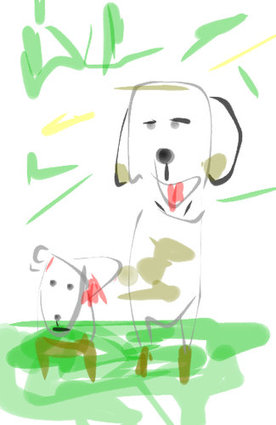 泥と犬03