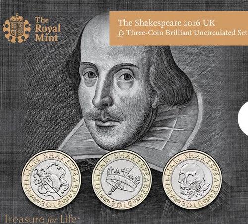 シェイクスピアの記念硬貨02