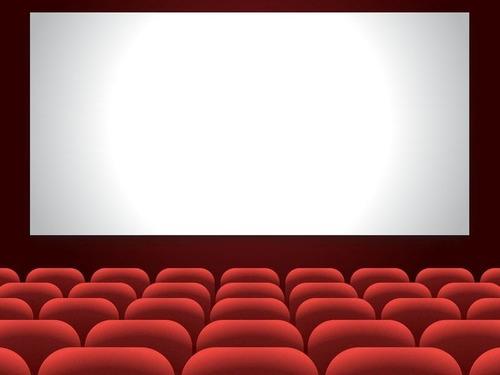 妹とその友人がホームメイドの映画館を作っていた