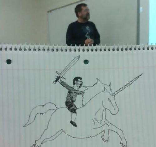 授業中に先生の似顔絵を描き続けた結果01