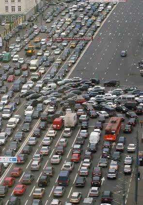 世界各国の渋滞-モスクワ1