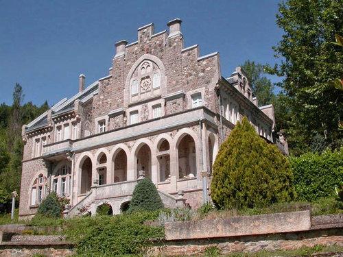 ヨーロッパのお城のような家 B01