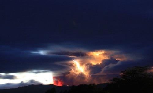 チリのプジェウエ火山09