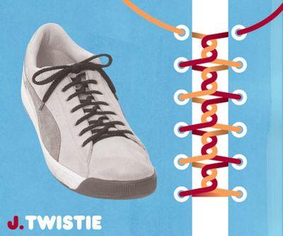 靴ひも・結び方10