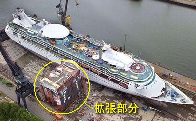 豪華客船改造01