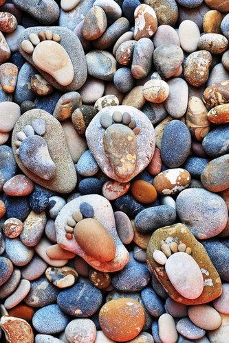 石の足跡10