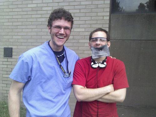 歯医者で火事が起こると01