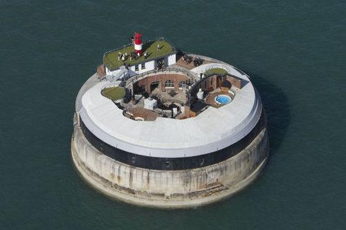 イギリスの要塞ホテル03