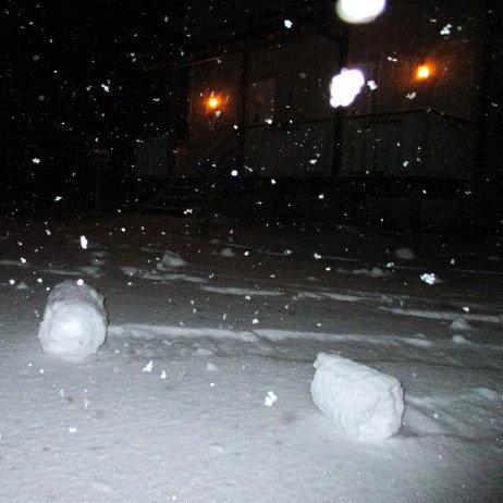 ノルウェーの雪だるま04