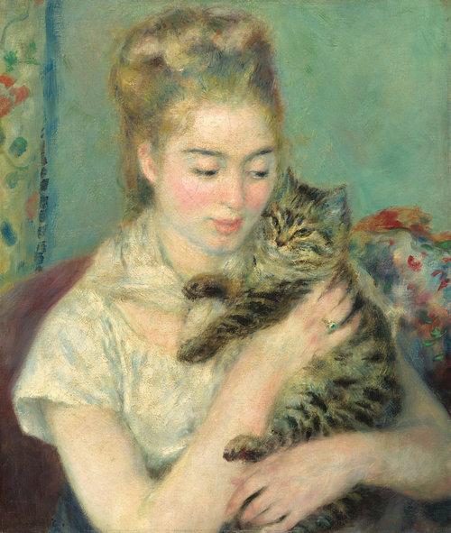 有名画家の描いた猫13