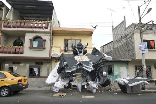 エクアドルの新年行事13