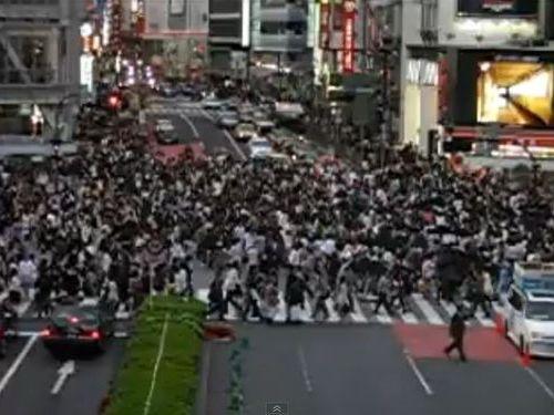 渋谷 スクランブル交差点 に対する画像結果
