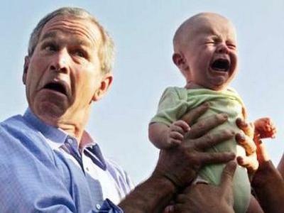 全米が泣いた・数字で見るブッシュ大統領