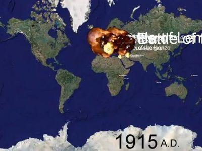 1000年間の世界の戦争
