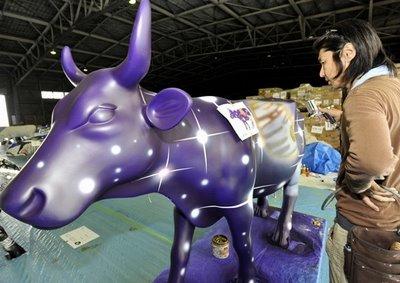 スペインの面白牛彫刻16