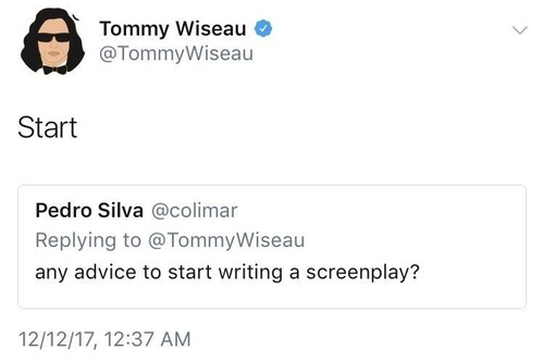 俳優から賢明なアドバイス01