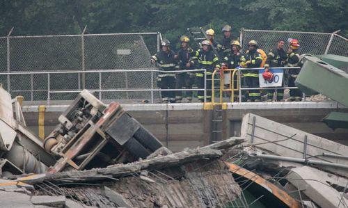 ミネソタの橋の事故05
