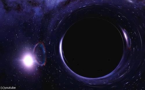 ブラックホールに吸い込まれたら02