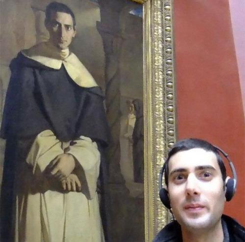 美術館に自分のそっくりな絵09