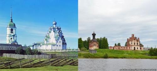 ロシア帝国時代の写真と現在27
