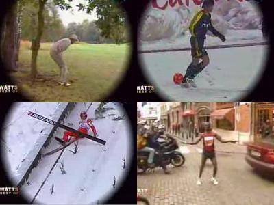 どんくさいスポーツの失敗映像集