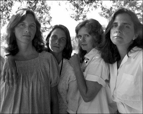 4人姉妹の毎年の写真11