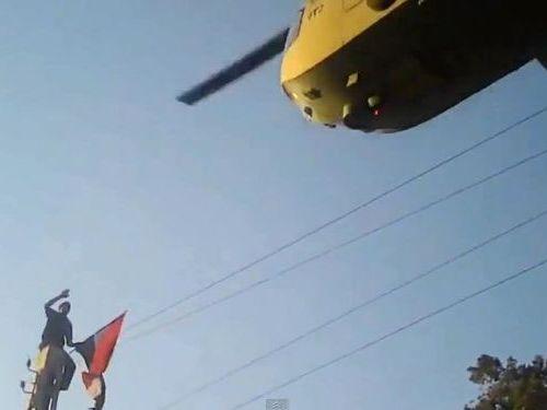 エジプトのヘリコプター01