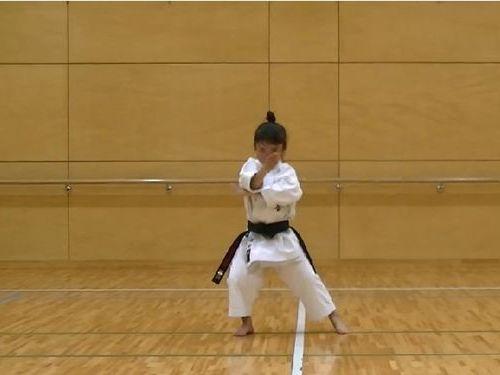 7歳空手少女01