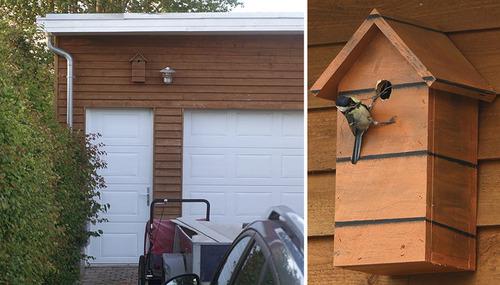 カモフラージュ鳥の巣箱06