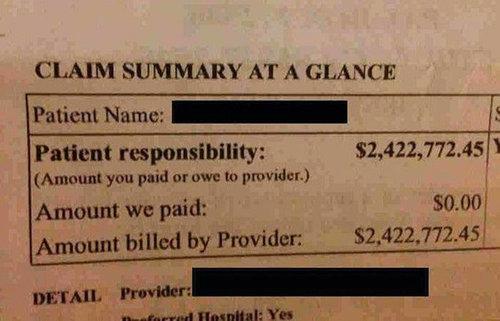 アメリカの医療費01