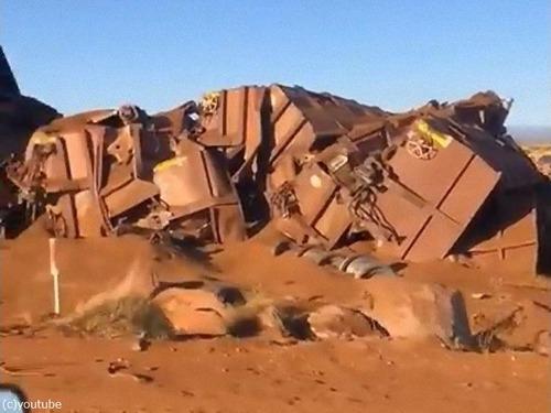 オーストラリアで268両の貨物列車が暴走02