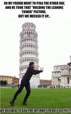 ピサの斜塔の修正写真01
