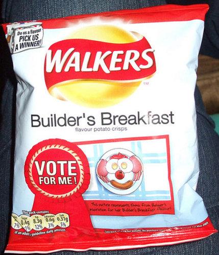 建設業者の朝食、イギリス