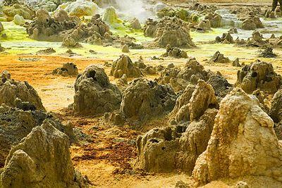 エチオピアのダロル火山11