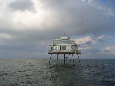 世界の灯台-ミドルベイ(Middle Bay)灯台(米国)