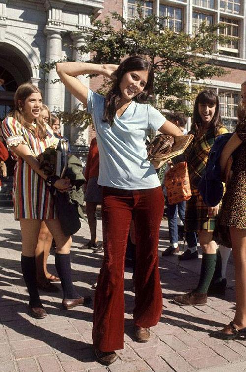 40年前のアメリカの女子高生ファッション04