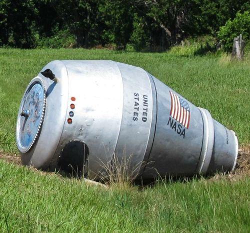 オクラホマ州に墜落したロケットのカプセル?01