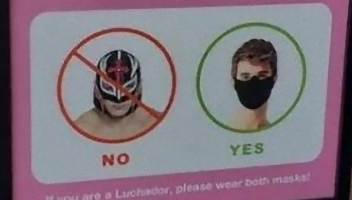 マスク装着義務の看板01