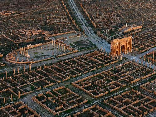アフリカにあるローマ時代の群居地02