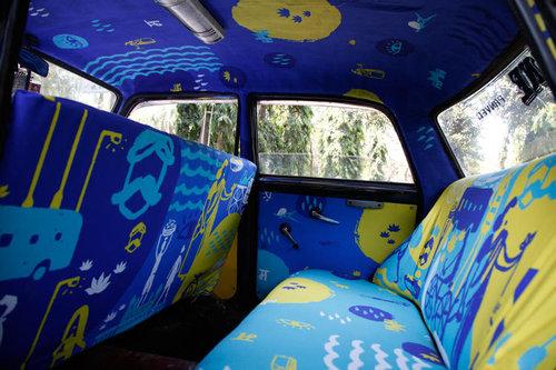 インドのタクシー10