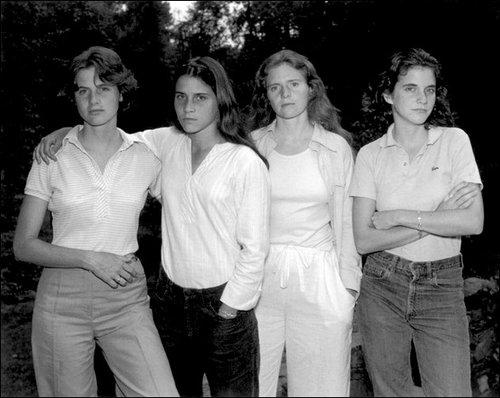 4人姉妹の毎年の写真01